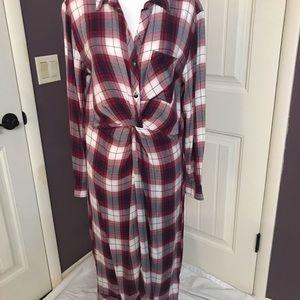 Caslon twist front dress, NWT